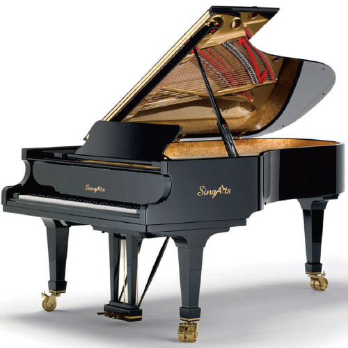 SingArts YT1 Grand Piano(Exclusive Series), Black Gloss Finish, Length 148cm
