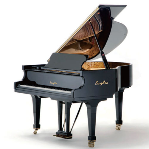 SingArts YT3 Grand Piano(Exclusive Series), Black Gloss Finish, Length 152cm