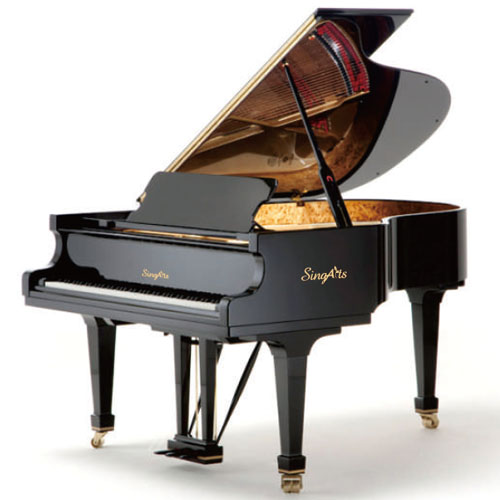 SingArts YT5 Grand Piano(Exclusive Series), Black Gloss Finish, Length 170cm